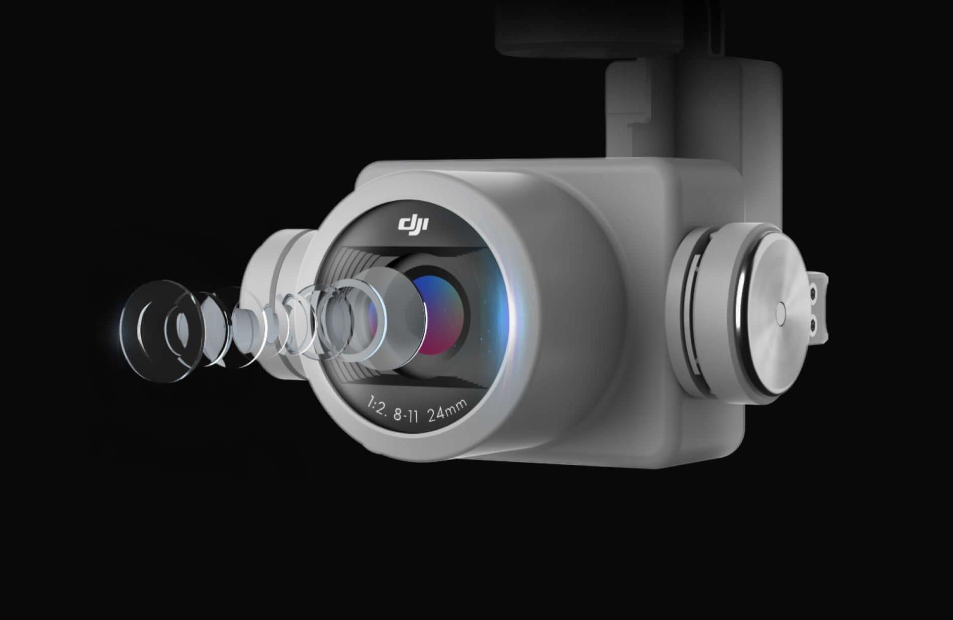 کیفیت لنز دوربین فانتوم 4