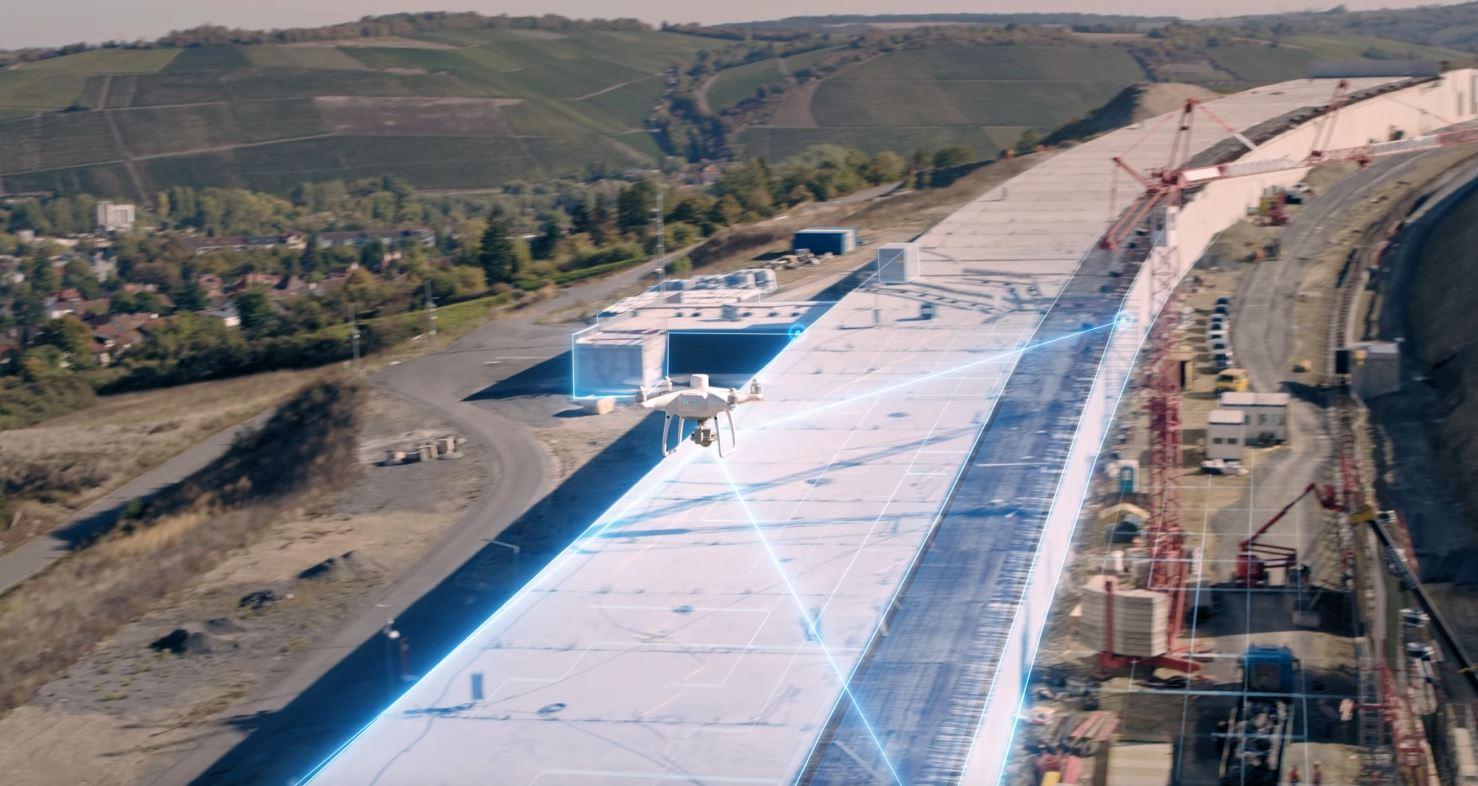 تجربهای جدید از نقشه برداری هوایی با پهپاد فانتوم ۴ RTK